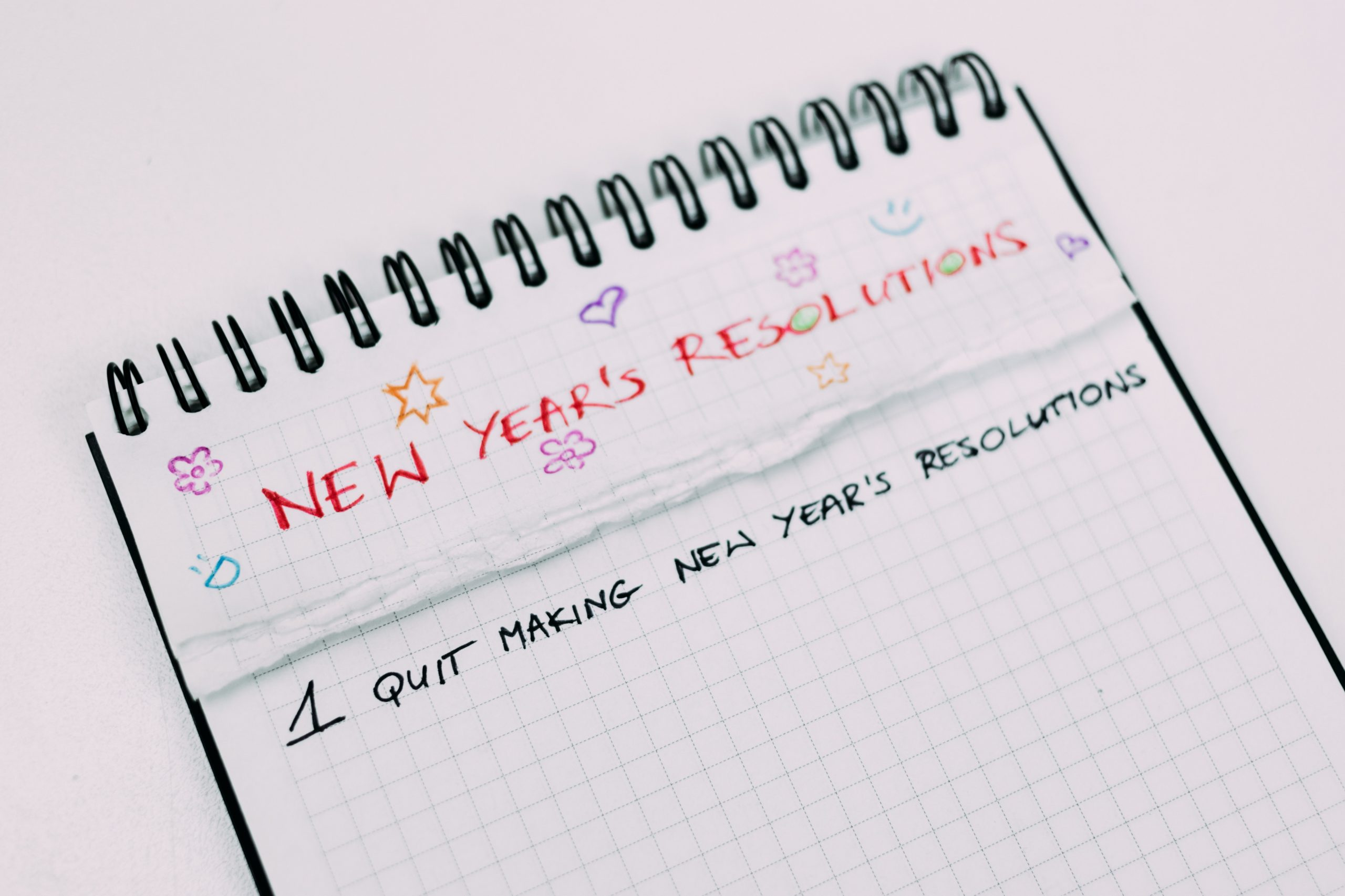 You didn't fail your New Year's resolution; your New Year's resolution failed you